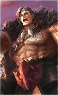 Tigreal Wyrmslayer Heroes Tank of Skins V1