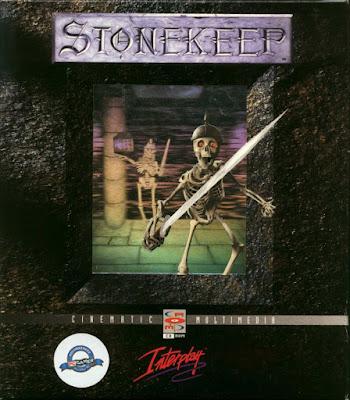 Portada videojuego Stonekeep
