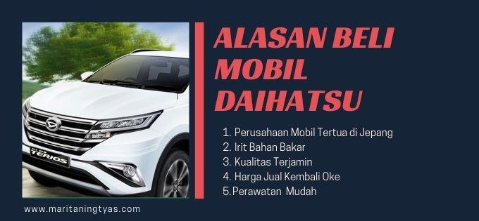 alasan membeli mobil Daihatsu