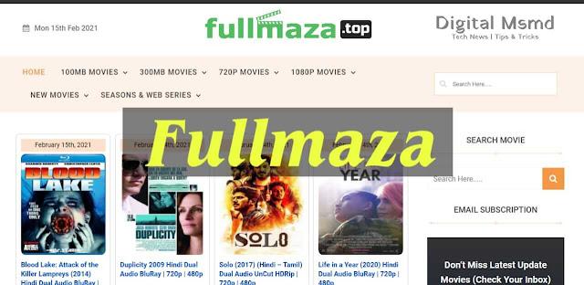 Fullmaza 2021: 300mb Download Latest Movies   Digital Msmd
