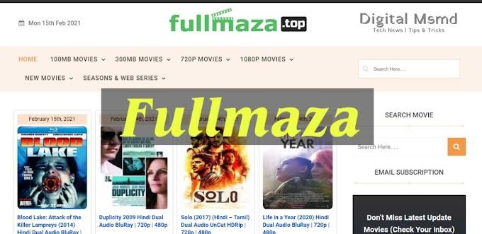 Fullmaza 2021: 300mb Download Latest Movies | Digital Msmd