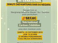 Pameran kartun internasional SECAC diundur jadi 29 Oktober 2016