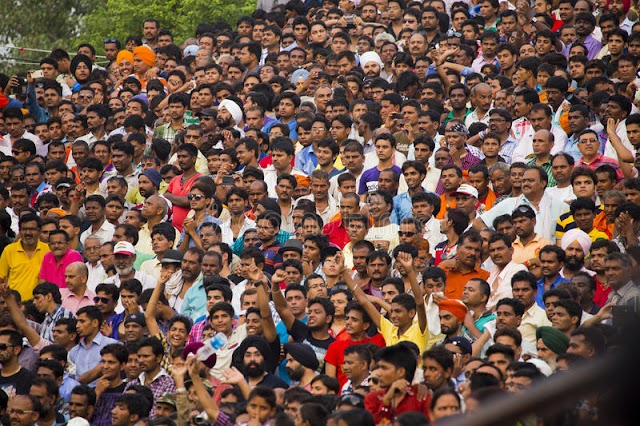 What is the population of India 2020