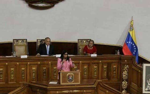 ANC, Delcy Rodriguez, PRESUPUESTO, Venezuela