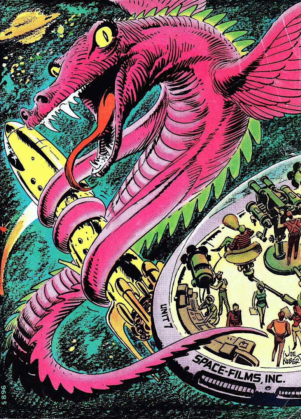 a Joe Kubert comic book 1971