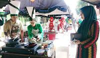 Lomba Memasak Nasi Goreng dan Lagu Dangdut Warnai HUT ke-74 TNI di Bima