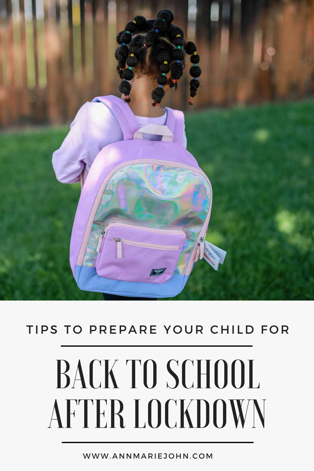 How to prepare your child for getting back to school after lockdown.