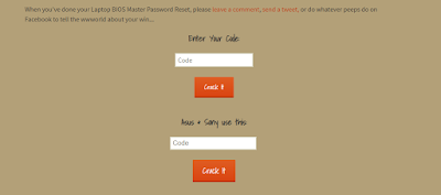 bios password reset