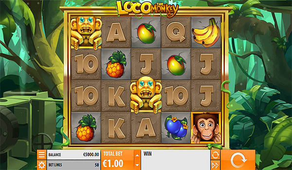 Main Slot Gratis Indonesia - Loco the Monkey (Quickspin)