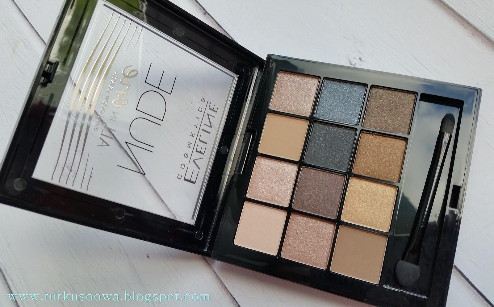 8f1d7dbe0 Turkusoowa Beauty Blog  Eveline Nude All in One Eyeshadow Palette
