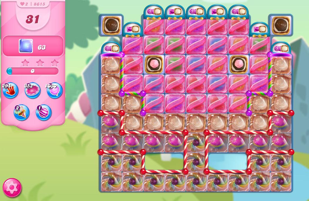 Candy Crush Saga level 8615