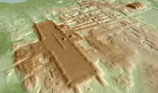 Aguada Fénix des chercheurs découvrent une structure maya vieille de 3000 ans plus grande que leurs pyramides