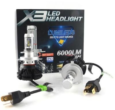 lampu LED  pada mobil