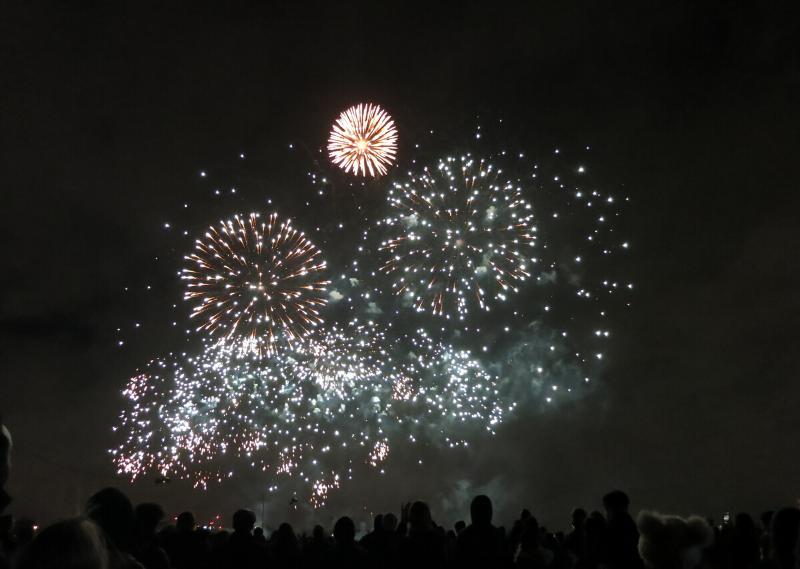 Blackheath Fireworks Display in a post about saying goodbye to London.