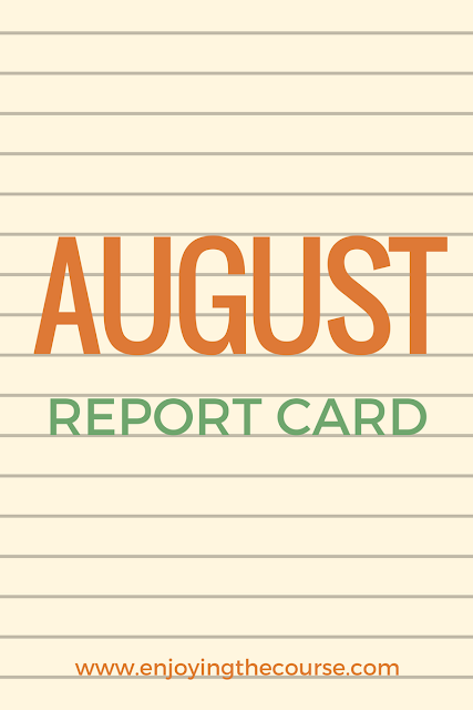 August Report Card