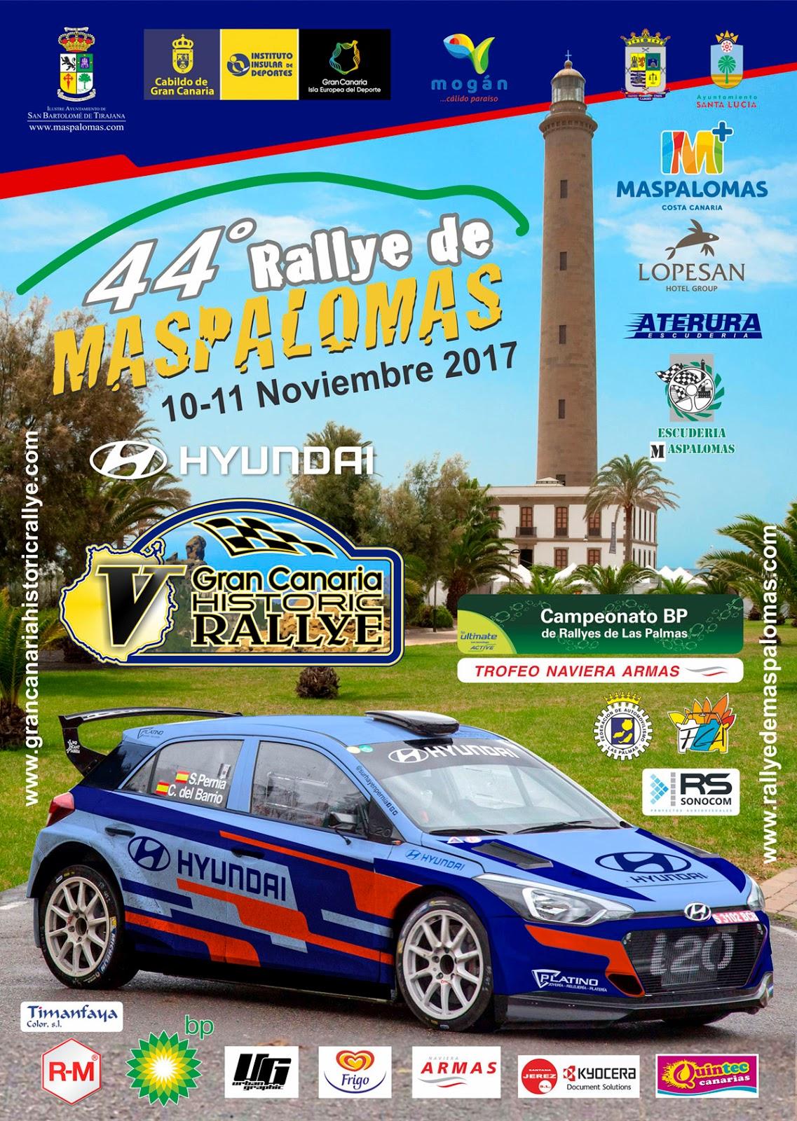 Campeonatos Regionales 2017: Información y novedades Cartel%2BRallyMaspalomas2017LR