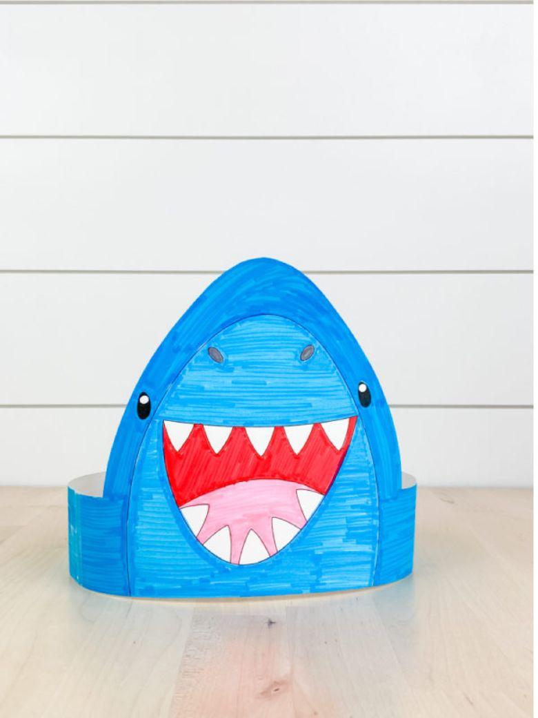 shark headband under the sea craft