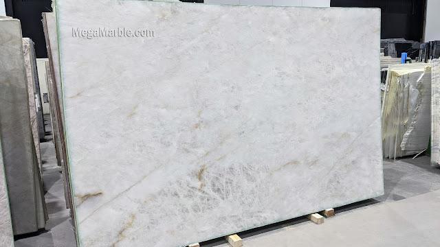 3cm Cristallo Natural Stone Quartzite Slab