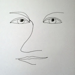 portrait liners line continuous drawings picasso wings simple using done bright
