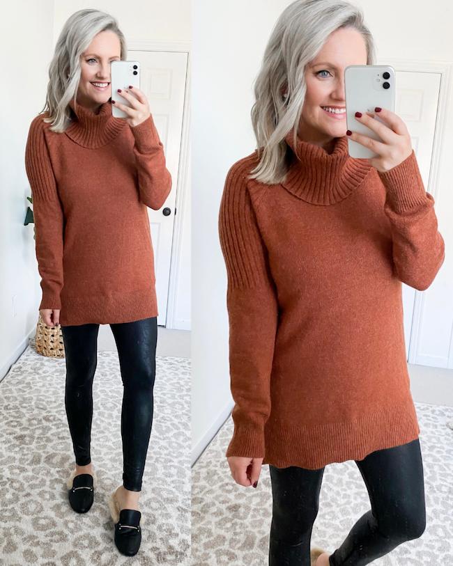 time and tru tunic sweater