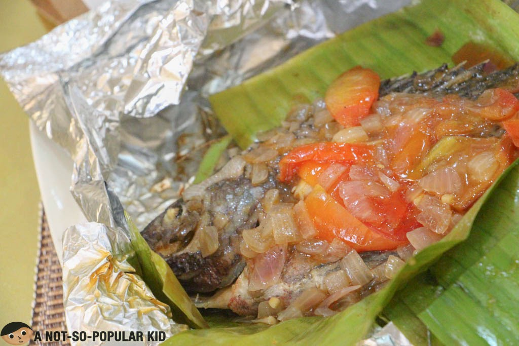 The Pinaputok na Tilapia of Metro Vigan Cafe