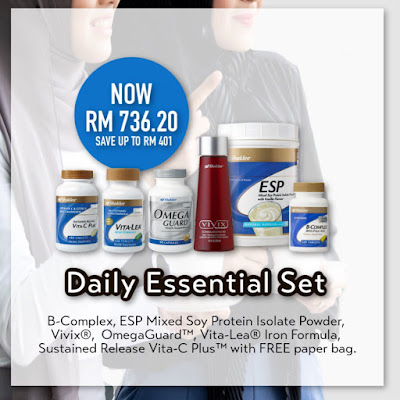 Promosi Jom Shaklee Daily Essential Set