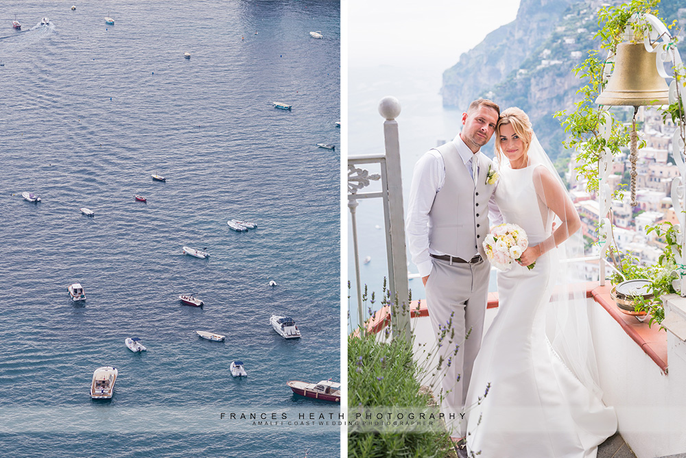 Positano wedding portrait
