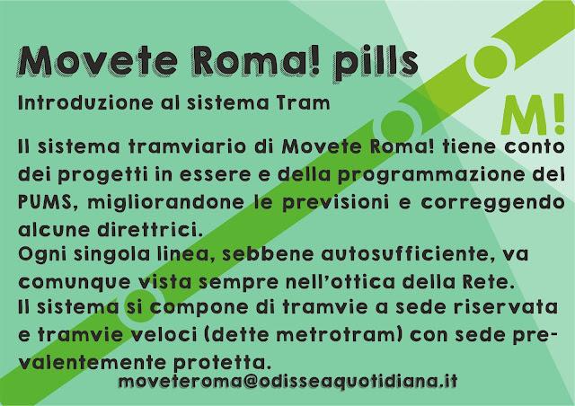 Movete Roma -  Pillola numero 14, introduzione al sistema Tram