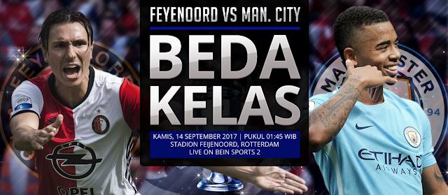 PREDIKSI Feyenoord vs Manchester City: Beda Kelas