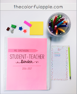 Are you hosting a student teacher in your classroom this year?  Here are some tips on helping them get the most out of their experience!