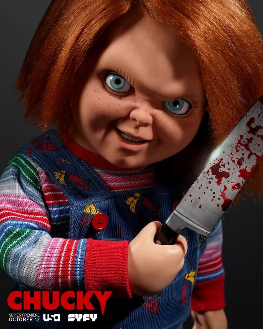SYFY показал тизер-трейлер хоррор-сериала «Чаки» - Постер