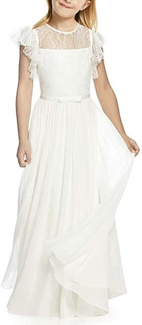Best Chiffon Girls Junior Bridesmaid Dresses