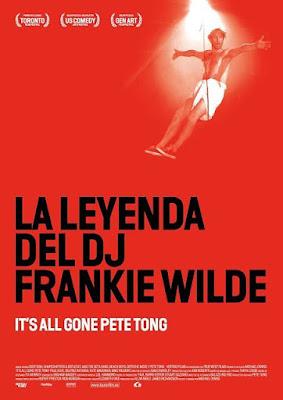 Cartel oficial español: La leyenda del DJ Frankie Wilde