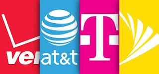 Mobile carrier, Verizon, AT&T, T-mobile, Sprint,Gadgets & widgets