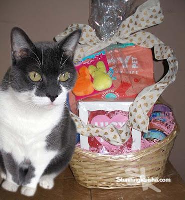 A Tisket, A Tasket, Guess Who Got an Easter Basket!