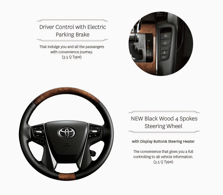 driver control new alphard