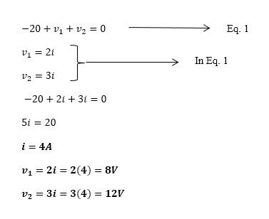 KCL And KVL Explained With Solved Numericals In Detail