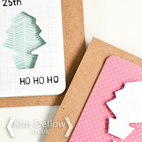 Mass produce Christmas Cards easily with journaling cards