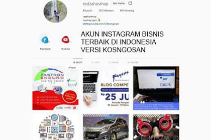 20 Akun Instagram Bisnis Terbaik di Indonesia