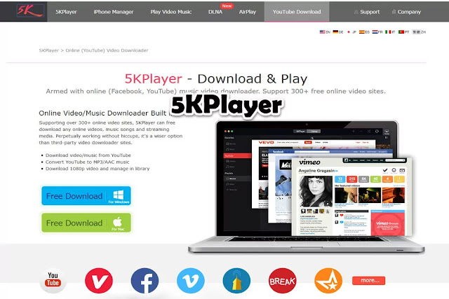 5KPlayer : Free Movie Streaming Sites No Sign Up