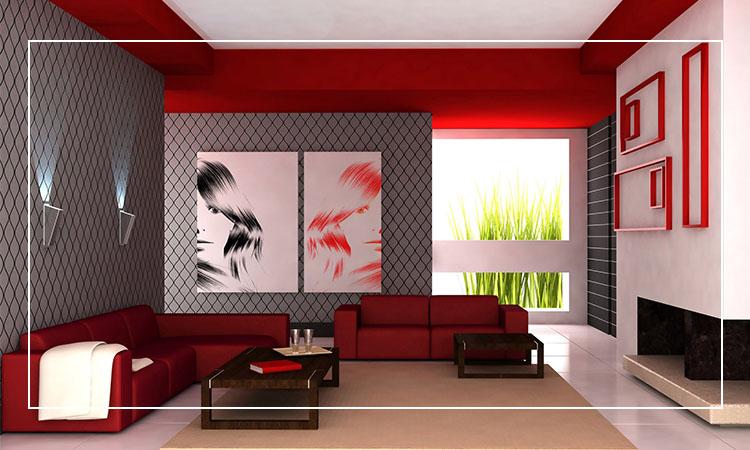 decoração papel de parede