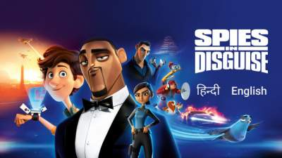 Spies in Disguise (2019) Dual Audio Full Movies Hindi 480p