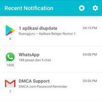 Cara Menghapus Riwayat Notifikasi di Aplikasi Recent Notification