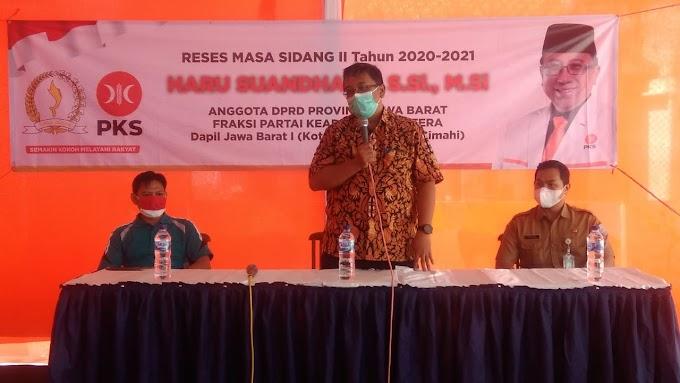 Haru Suhandharu Laksanakan Reses Masa Sidang II di Kel. Sukapada Kec. Cileunying Kidul Kota Bandung