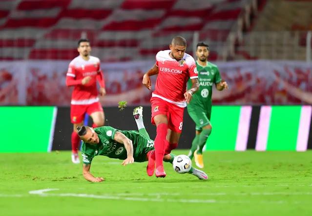 ترتيب الدوري السعودي بعد انتهاء مباراة الأهلي و الوحدة
