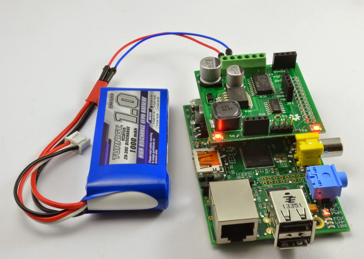 Dr Monks Diy Electronics Blog Raspberry Pi Battery Power To A The Other Is Connected Switch In Circuit You Will Need Provide Both These Features Separately Form Of Charger And Switching Voltage Regulator