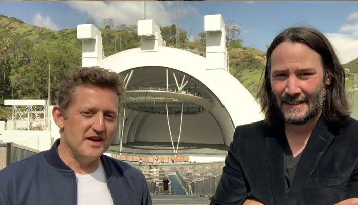 Keanu Reeves, Alex Winter convey message to graduating seniors of 'Secondary School'