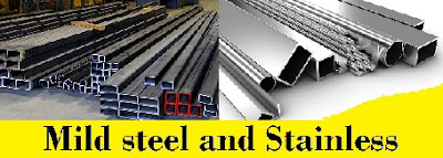 Difference Between Mild steel and Stainless Steel