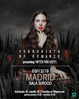 Concierto de Terrorists Of Romance en Siroco
