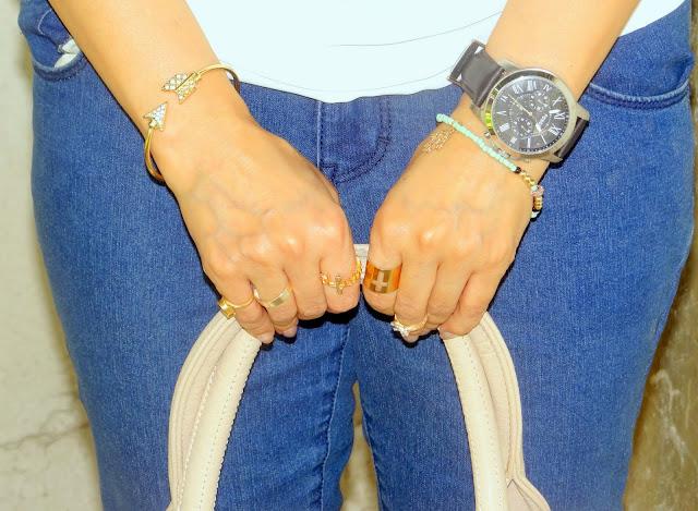 One Jeans- Three looks